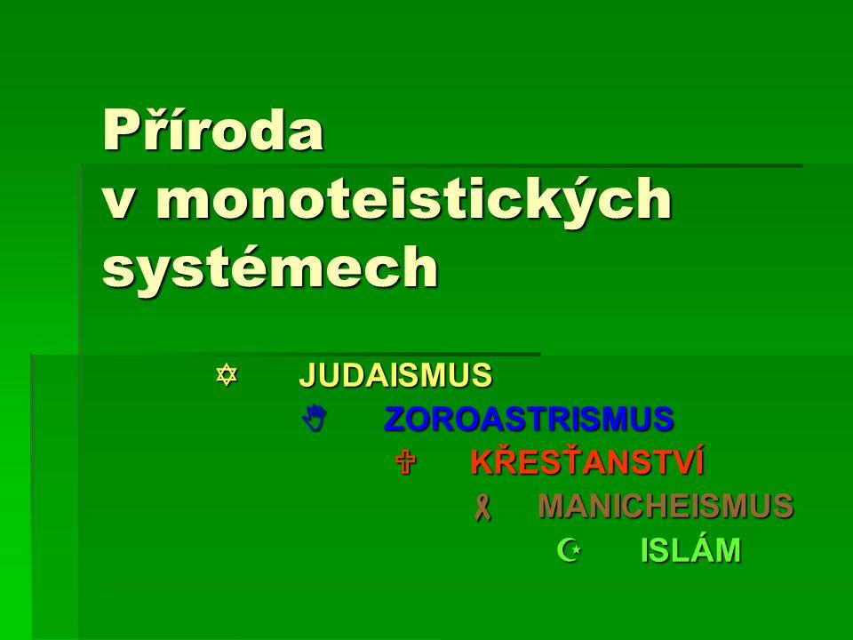 Příroda v monoteistických systémech
