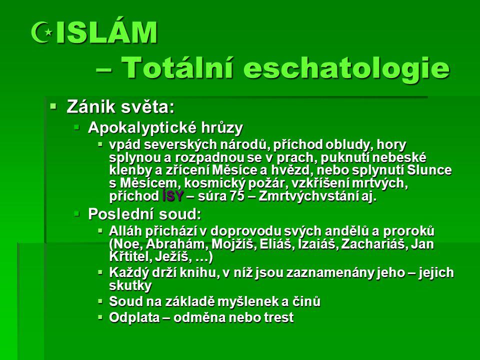 ISLÁM – Totální eschatologie