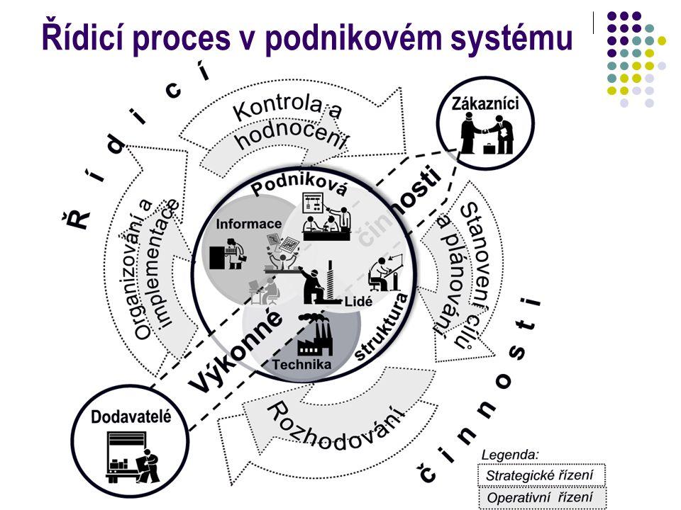 Řídicí proces v podnikovém systému