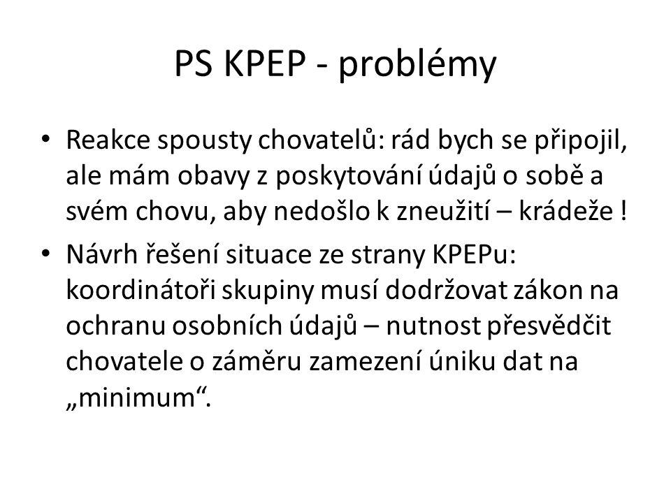PS KPEP - problémy