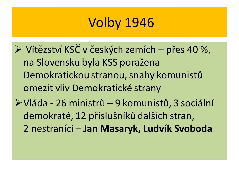 Volby 1946