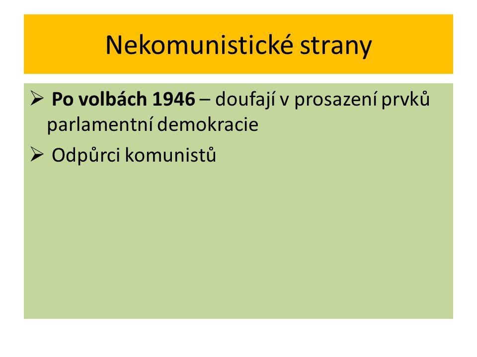 Nekomunistické strany