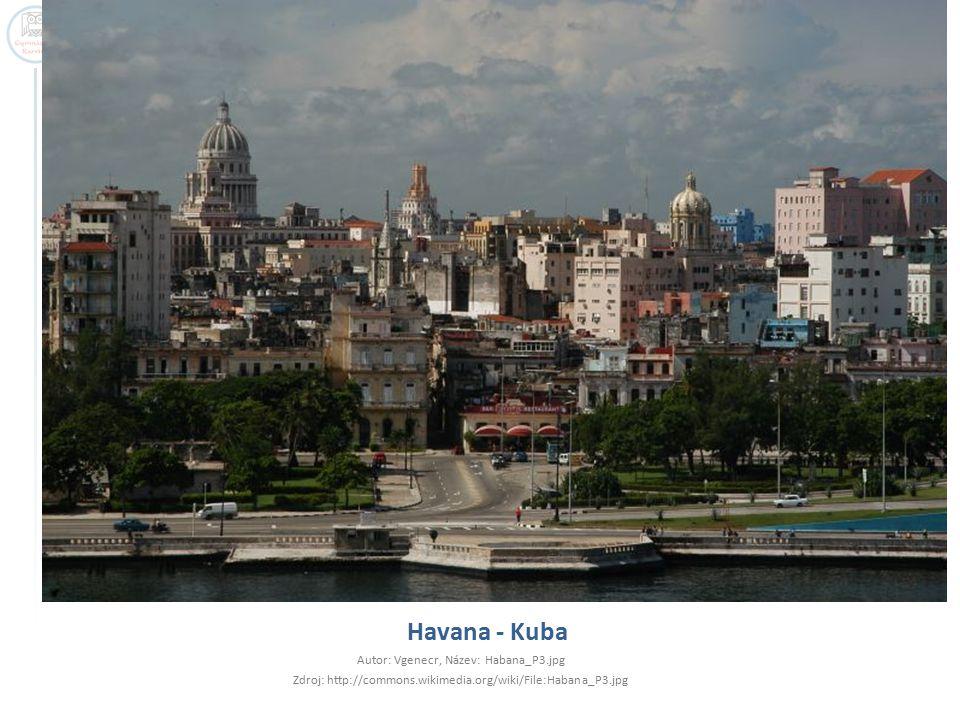 Havana - Kuba Autor: Vgenecr, Název: Habana_P3.jpg
