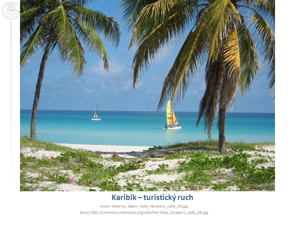 Karibik – turistický ruch