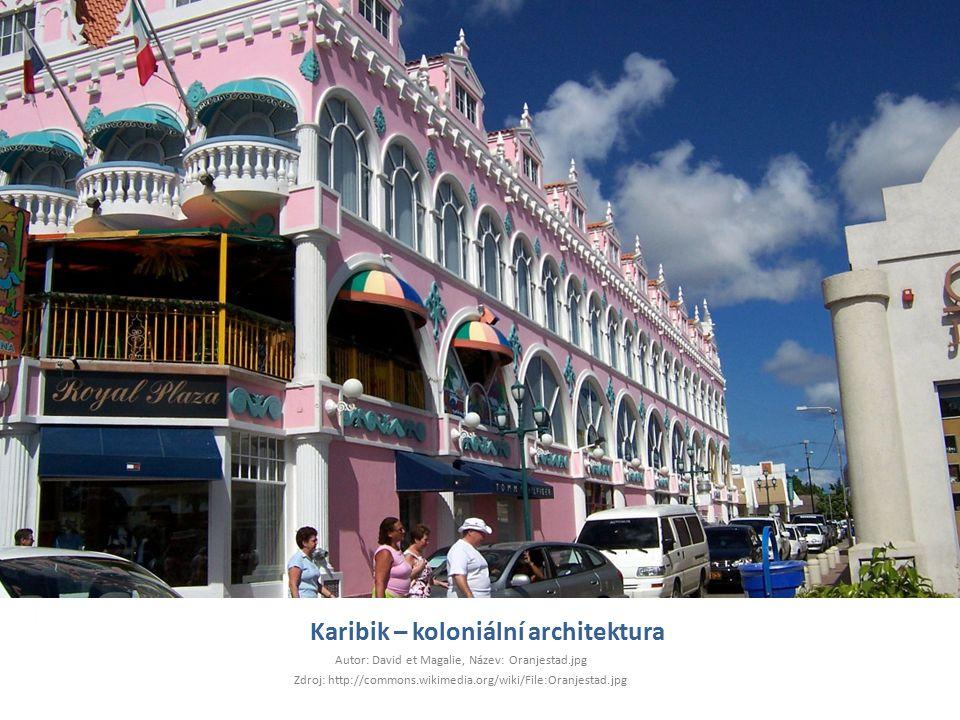Karibik – koloniální architektura