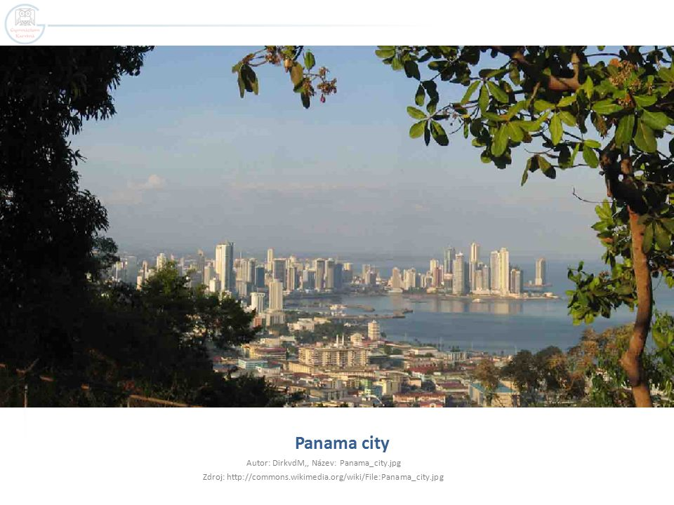 Panama city Autor: DirkvdM,, Název: Panama_city.jpg