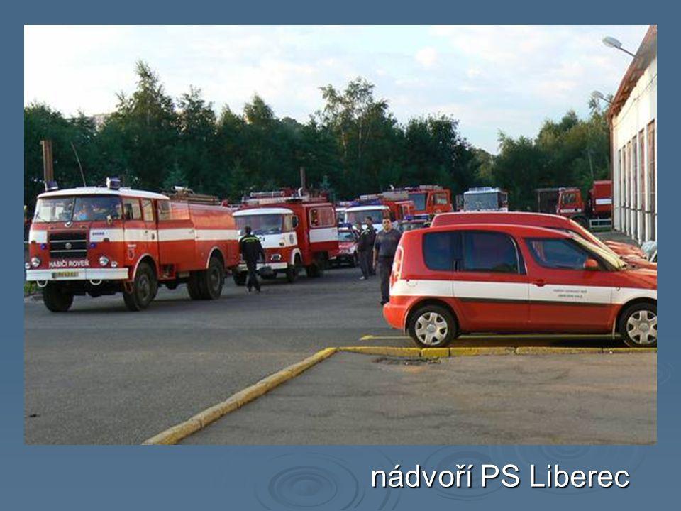 nádvoří PS Liberec