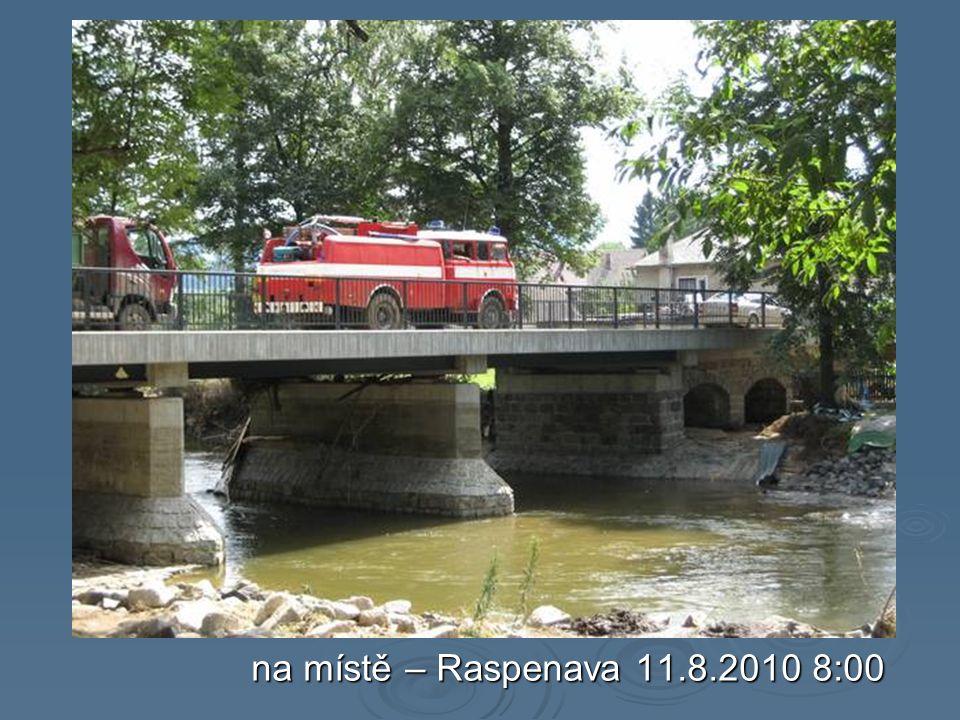 na místě – Raspenava 11.8.2010 8:00