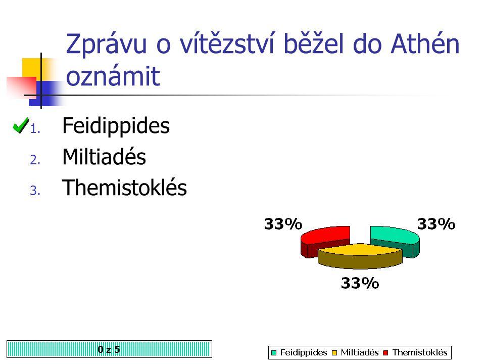 Zprávu o vítězství běžel do Athén oznámit