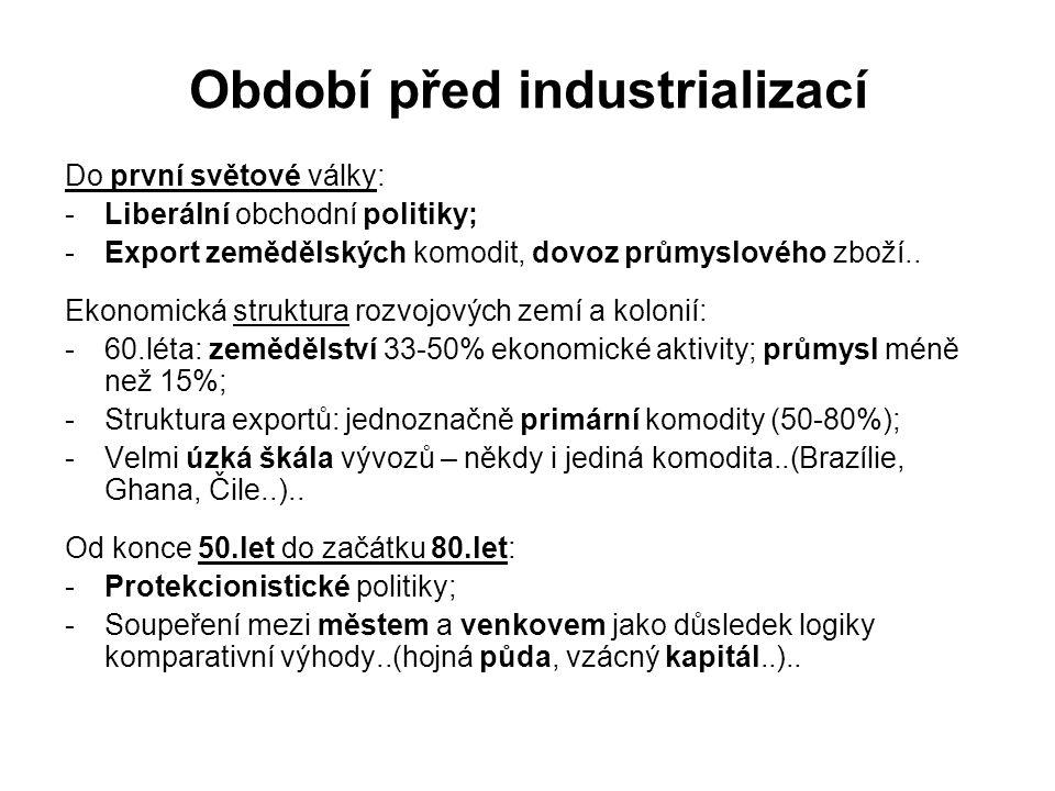 Období před industrializací
