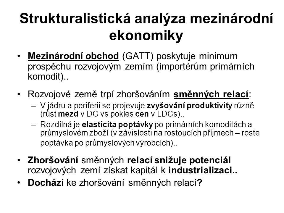 Strukturalistická analýza mezinárodní ekonomiky