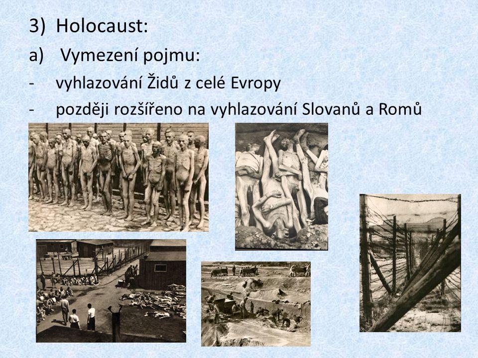 Holocaust: Vymezení pojmu: vyhlazování Židů z celé Evropy