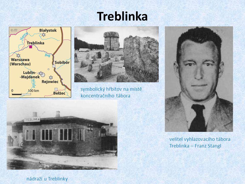 Treblinka symbolický hřbitov na místě koncentračního tábora
