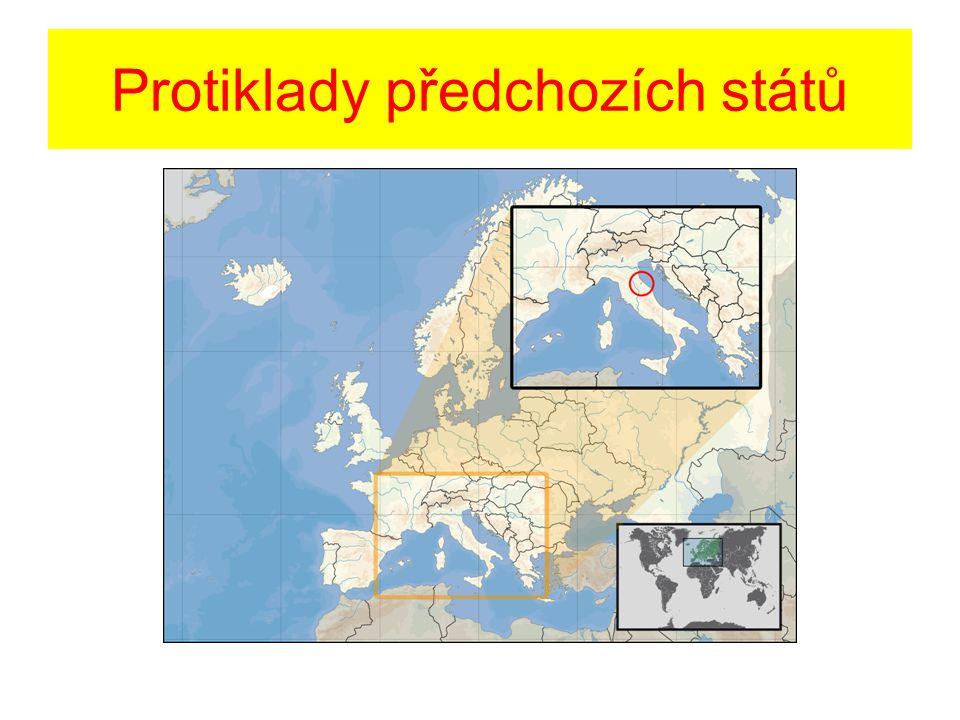 Protiklady předchozích států