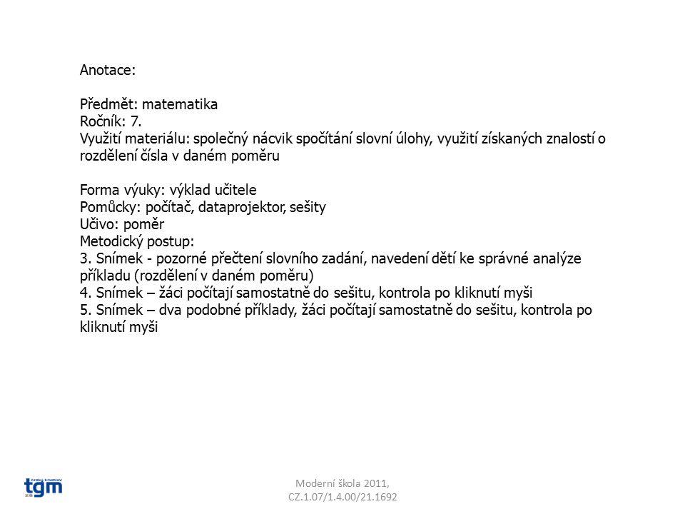 Forma výuky: výklad učitele Pomůcky: počítač, dataprojektor, sešity