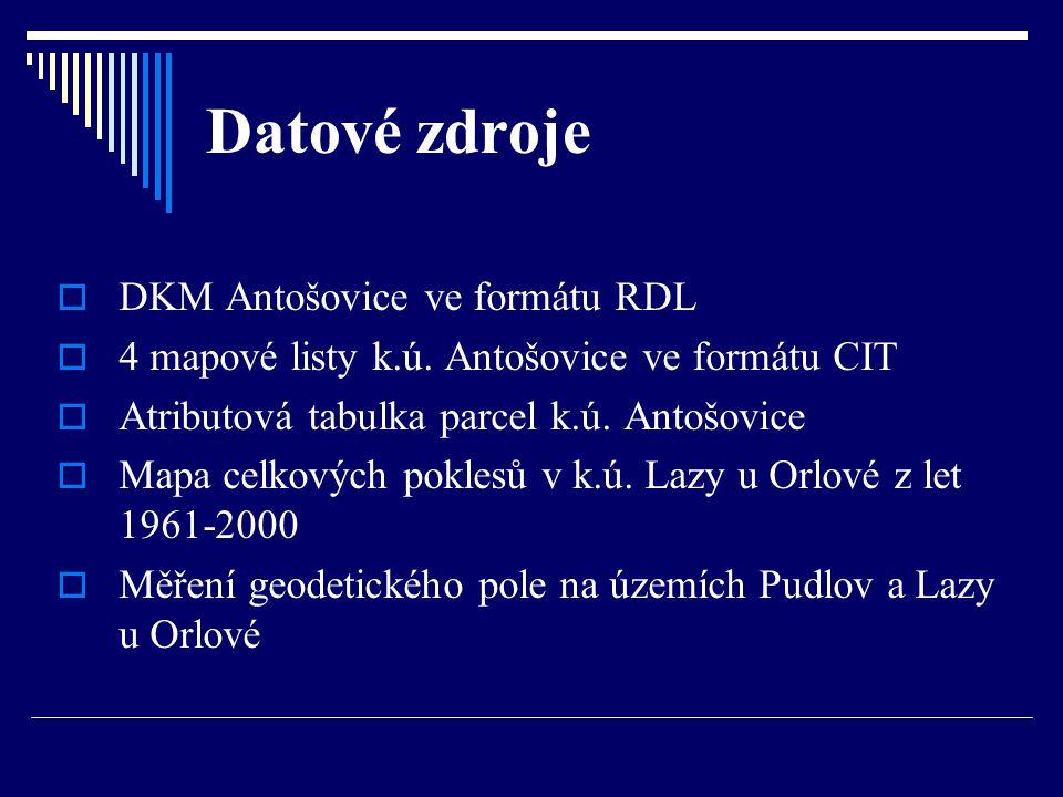 Datové zdroje DKM Antošovice ve formátu RDL