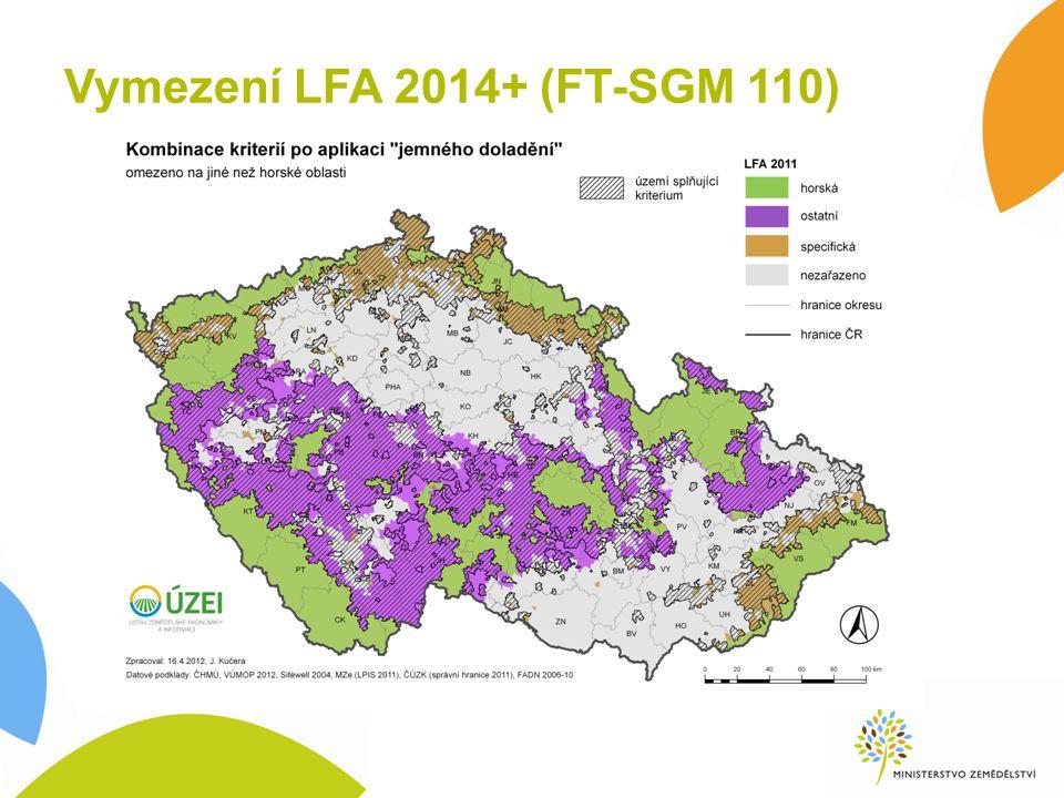Vymezení LFA 2014+ (FT-SGM 110)