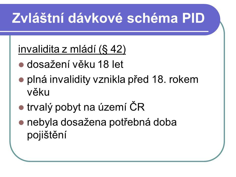 Zvláštní dávkové schéma PID