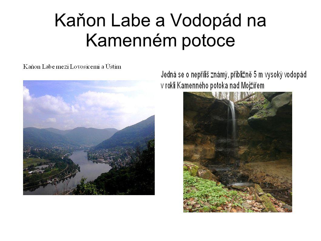Kaňon Labe a Vodopád na Kamenném potoce