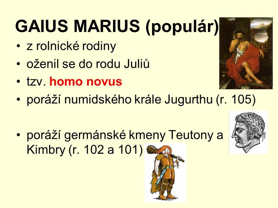 GAIUS MARIUS (populár)