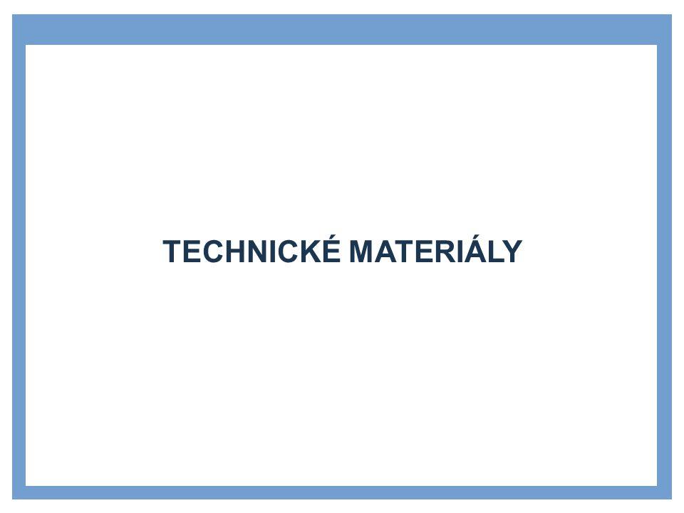 Zdroje Technické materiály