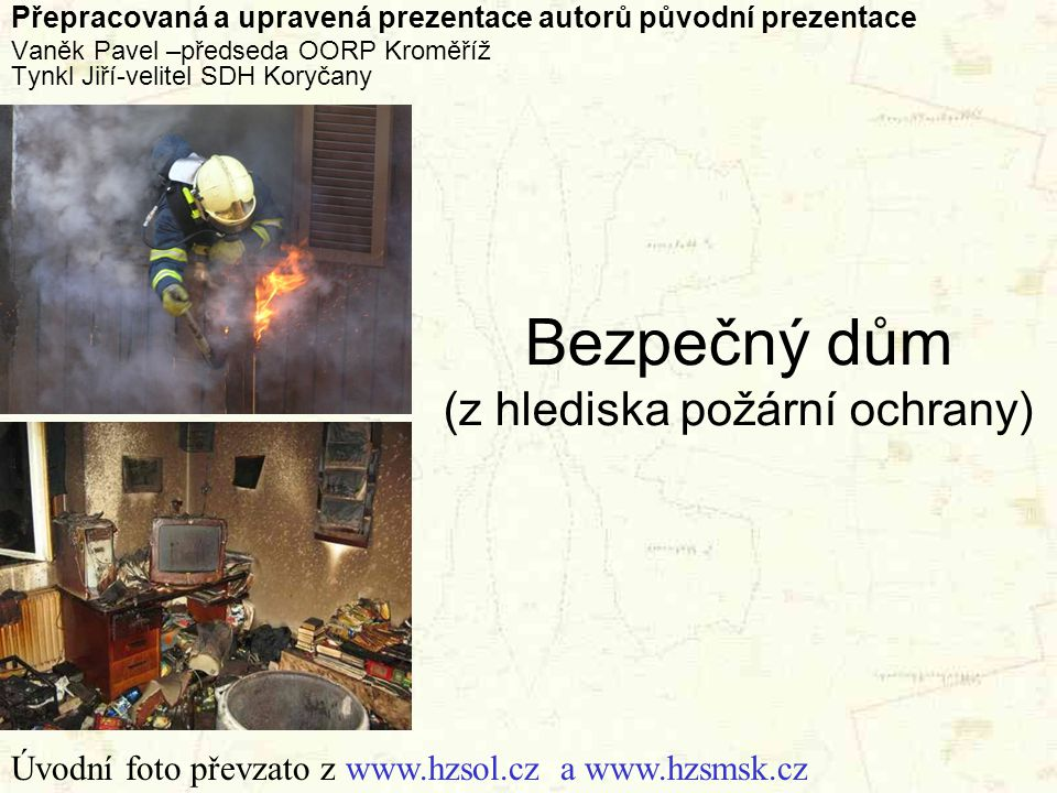 Bezpečný dům (z hlediska požární ochrany)