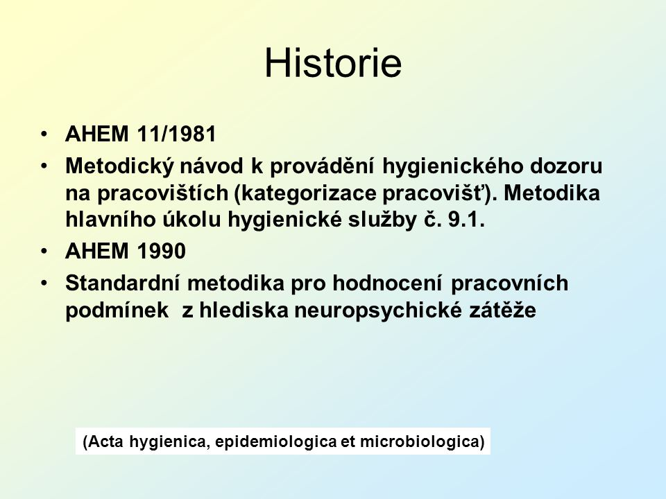 (Acta hygienica, epidemiologica et microbiologica)