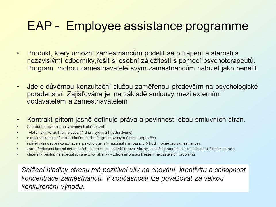 EAP - Employee assistance programme