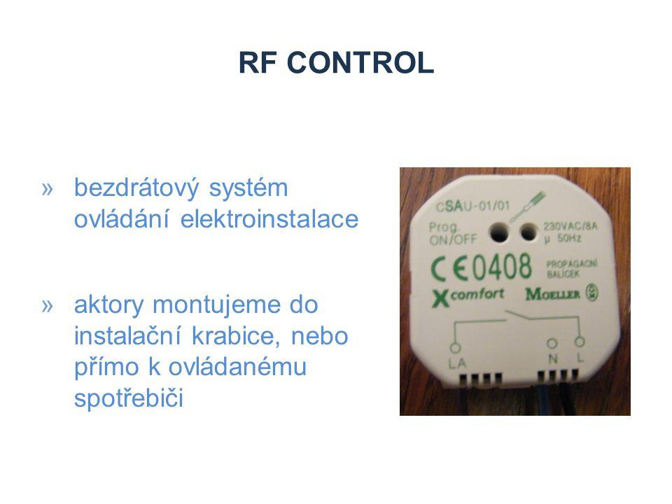 RF control bezdrátový systém ovládání elektroinstalace
