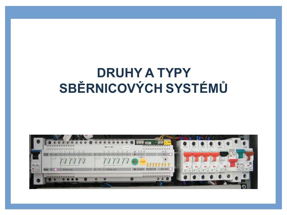 Druhy a typy sběrnicových systémů