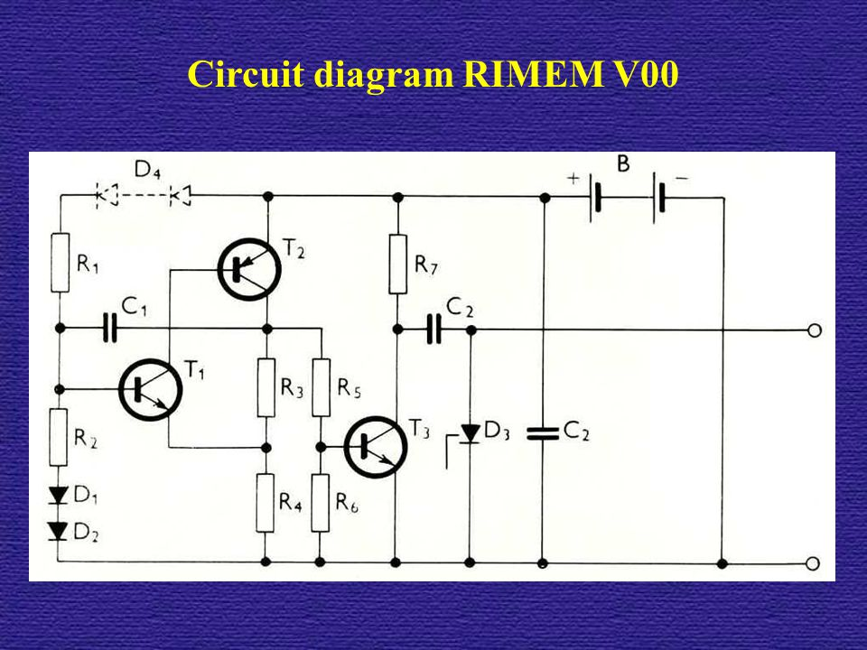 Circuit diagram RIMEM V00