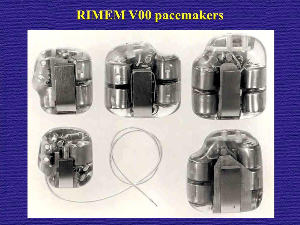 RIMEM V00 pacemakers