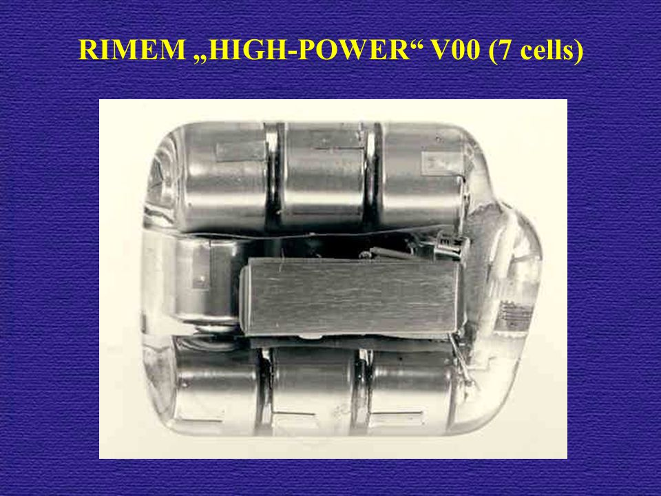 "RIMEM ""HIGH-POWER V00 (7 cells)"