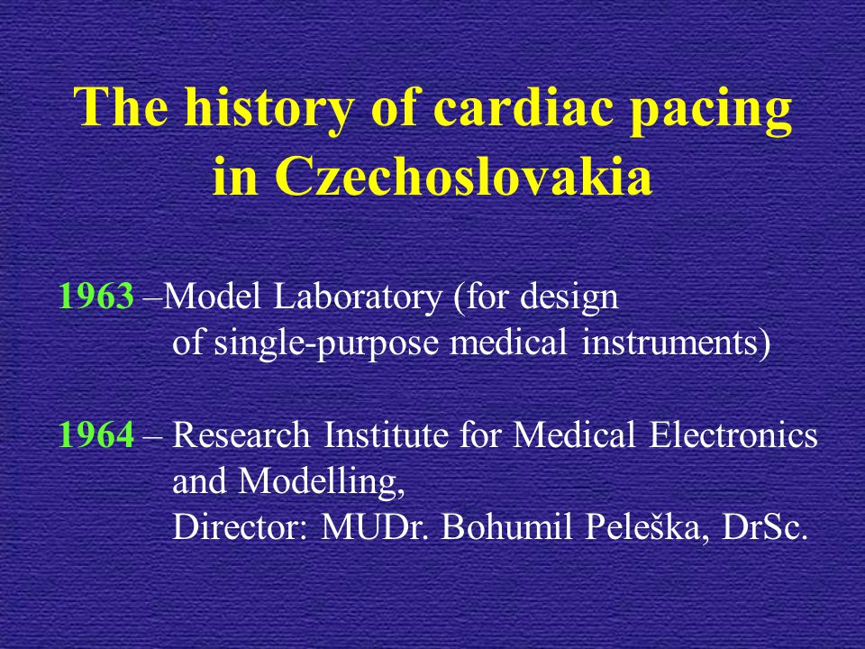 The history of cardiac pacing
