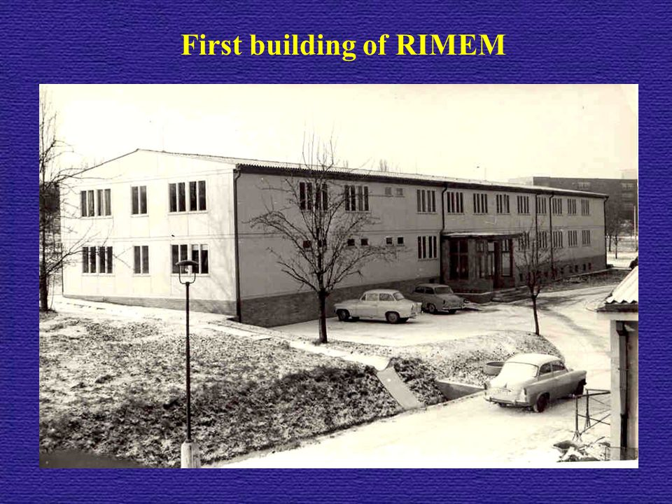 First building of RIMEM