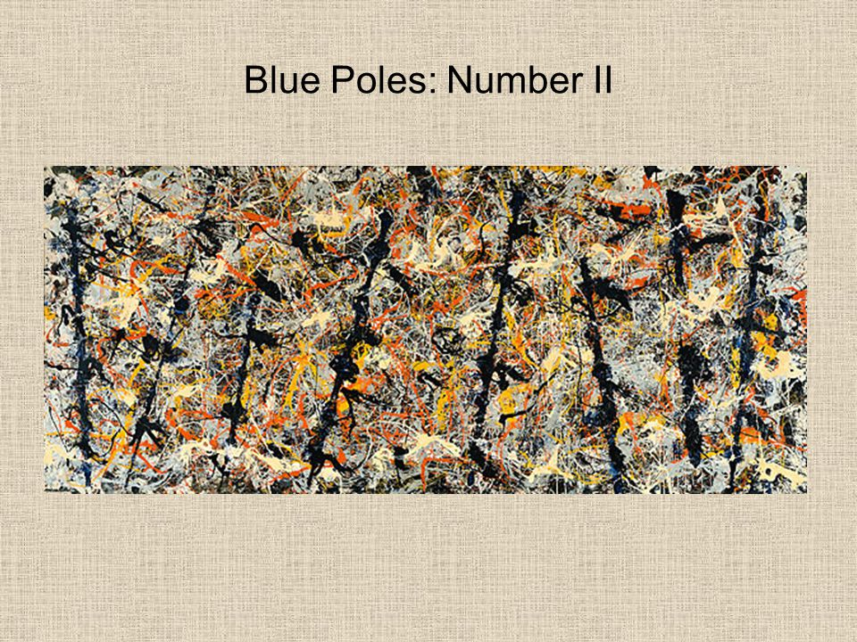 Blue Poles: Number II