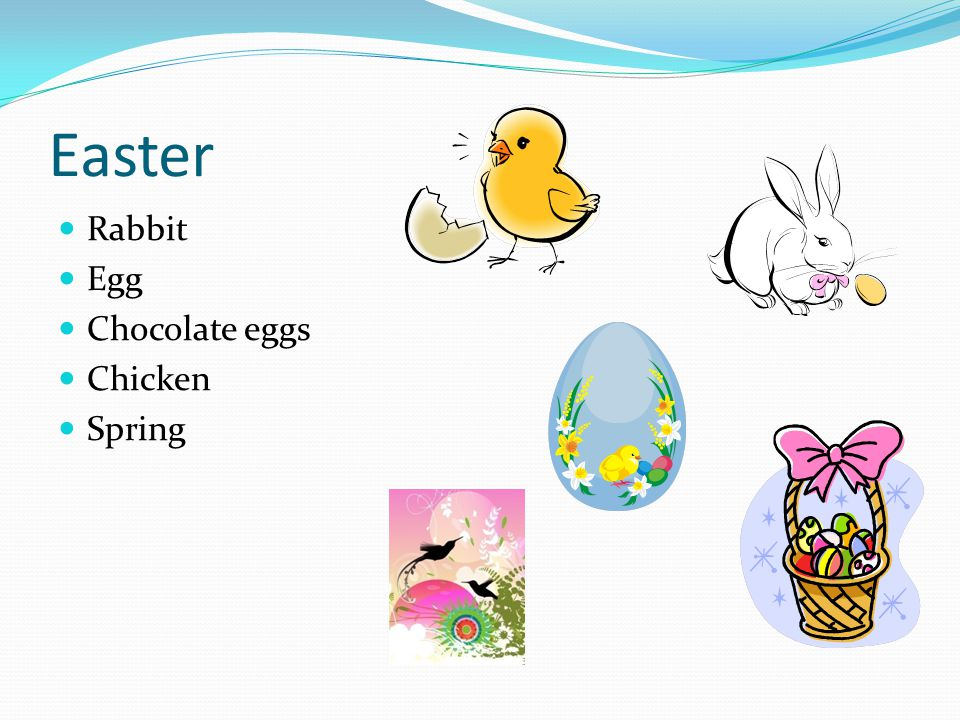 Easter Rabbit Egg Chocolate eggs Chicken Spring