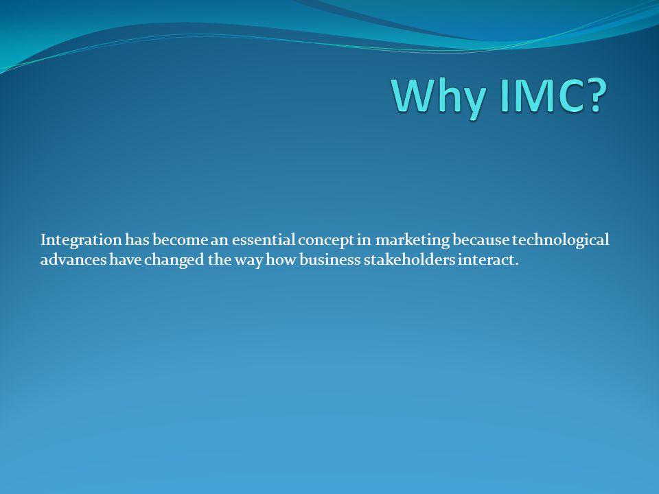 Why IMC