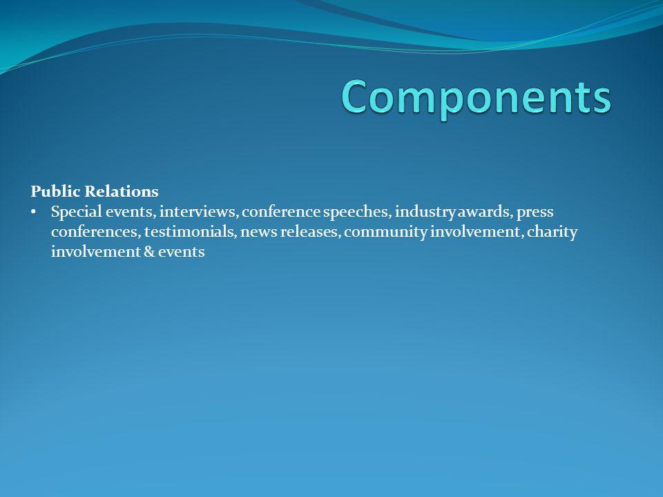 Components Public Relations