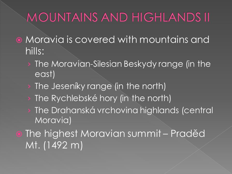 MOUNTAINS AND HIGHLANDS II