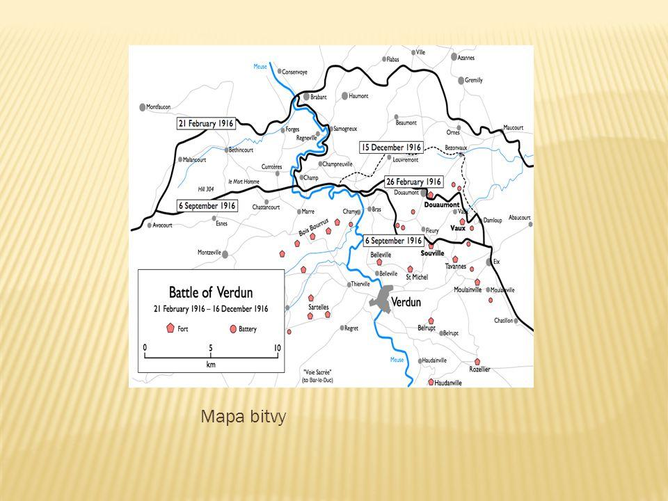 Mapa bitvy