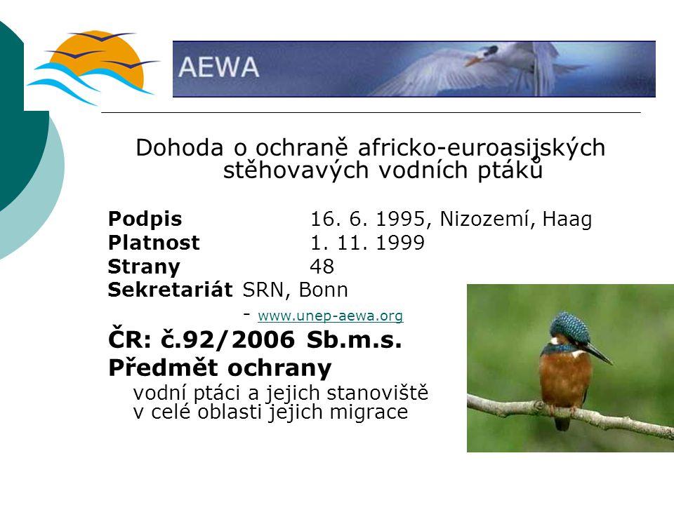 Dohoda o ochraně africko-euroasijských stěhovavých vodních ptáků