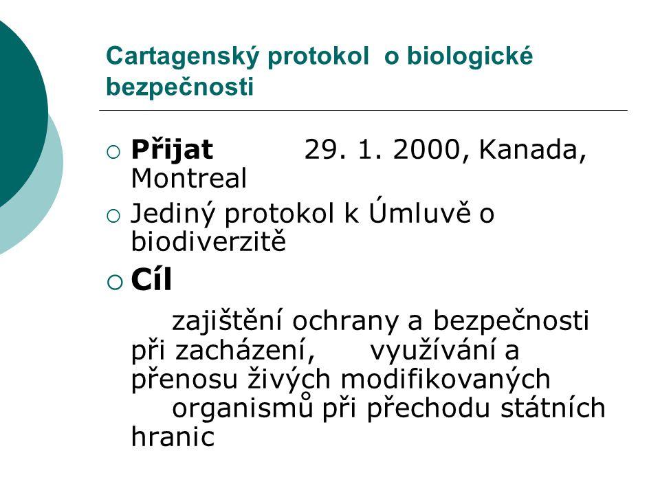 Cartagenský protokol o biologické bezpečnosti