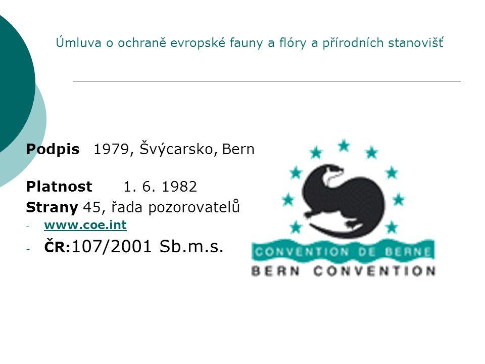 Strany 45, řada pozorovatelů ČR:107/2001 Sb.m.s.