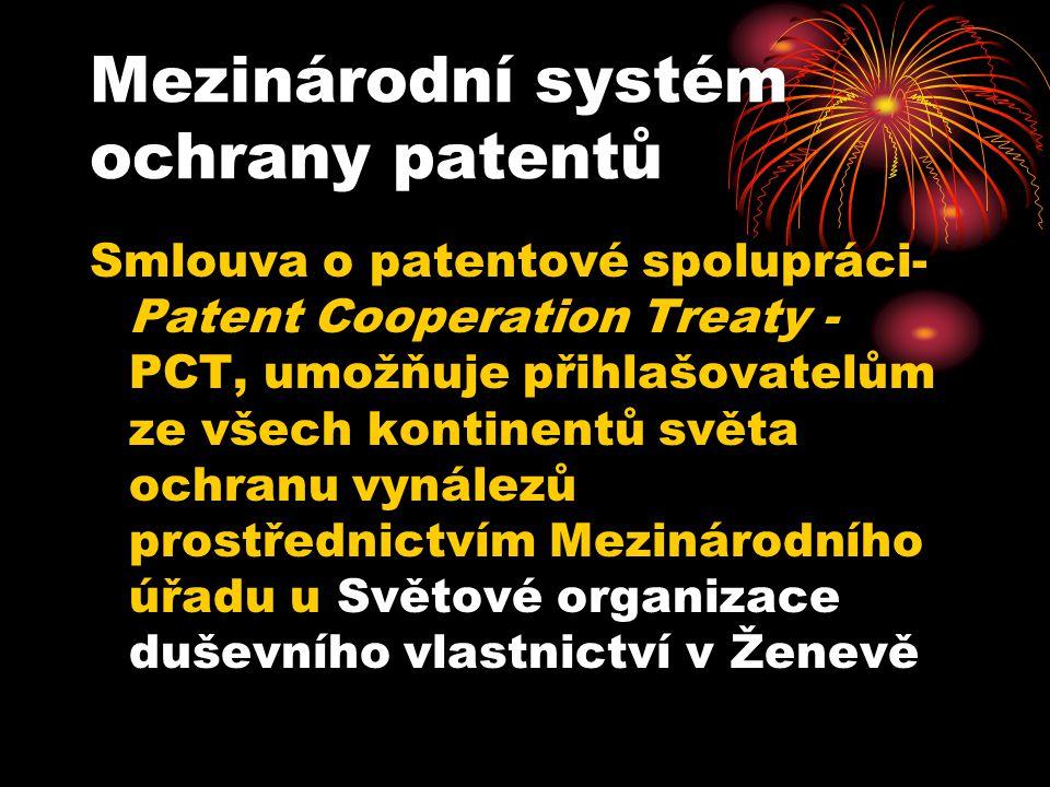 Mezinárodní systém ochrany patentů