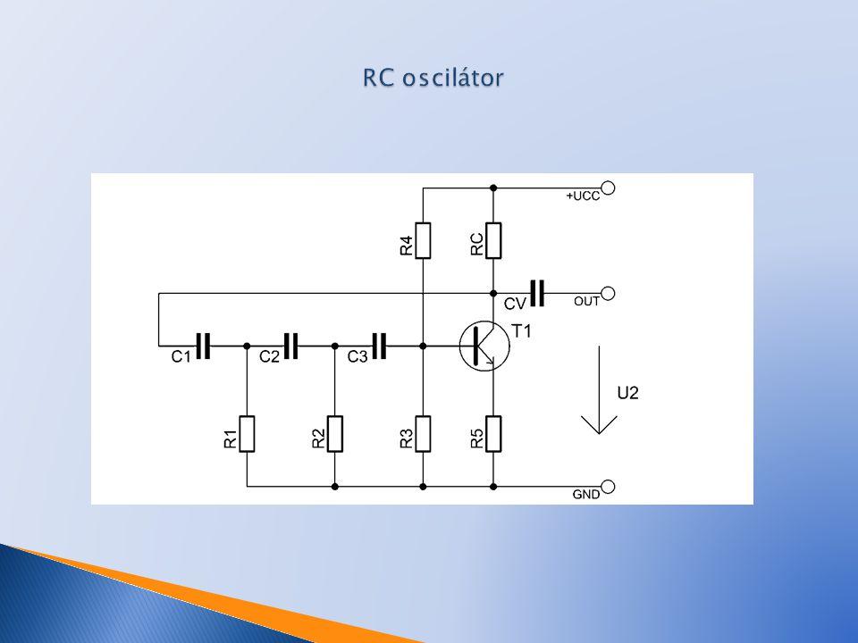 RC oscilátor
