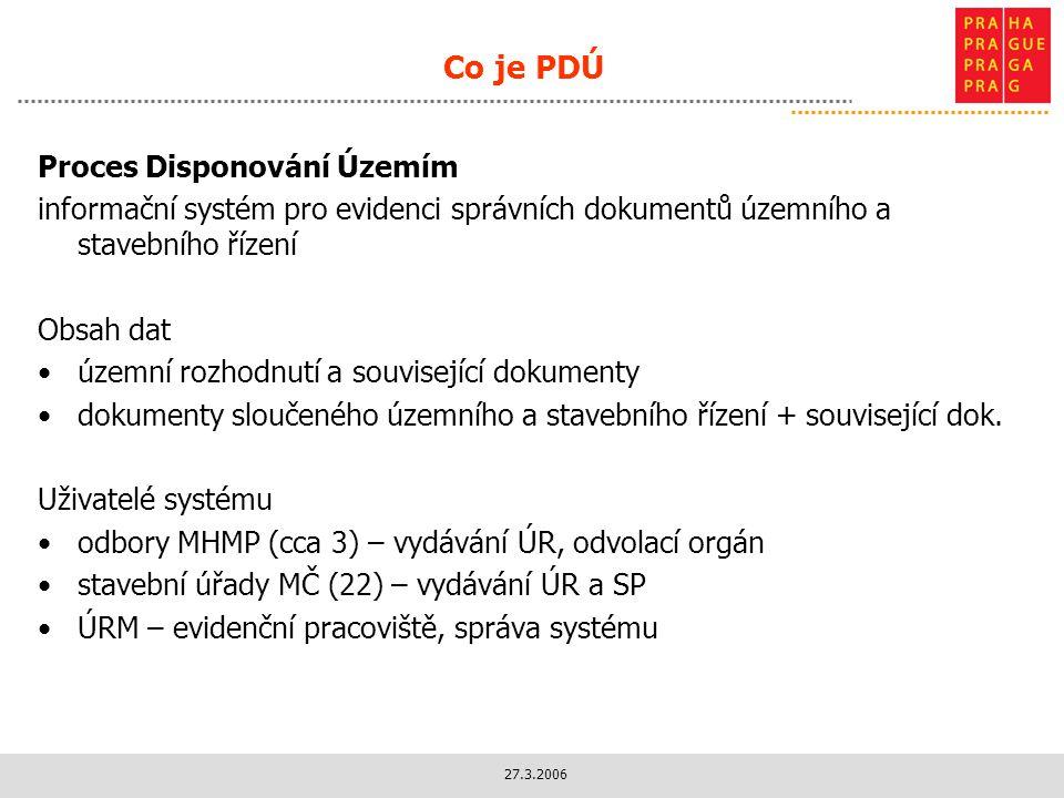 Co je PDÚ Proces Disponování Územím