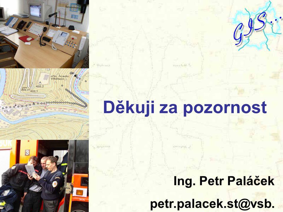 Děkuji za pozornost Ing. Petr Paláček petr.palacek.st@vsb.cz