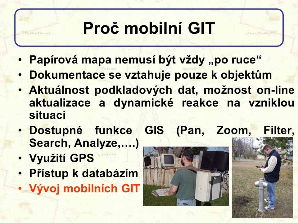 """Proč mobilní GIT Papírová mapa nemusí být vždy """"po ruce"""