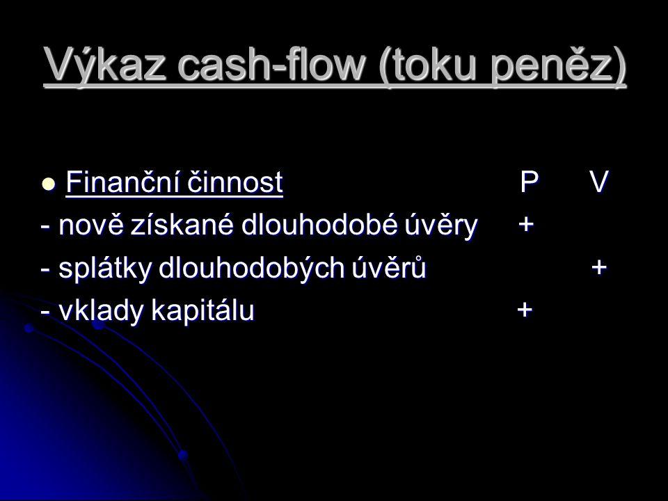 Výkaz cash-flow (toku peněz)